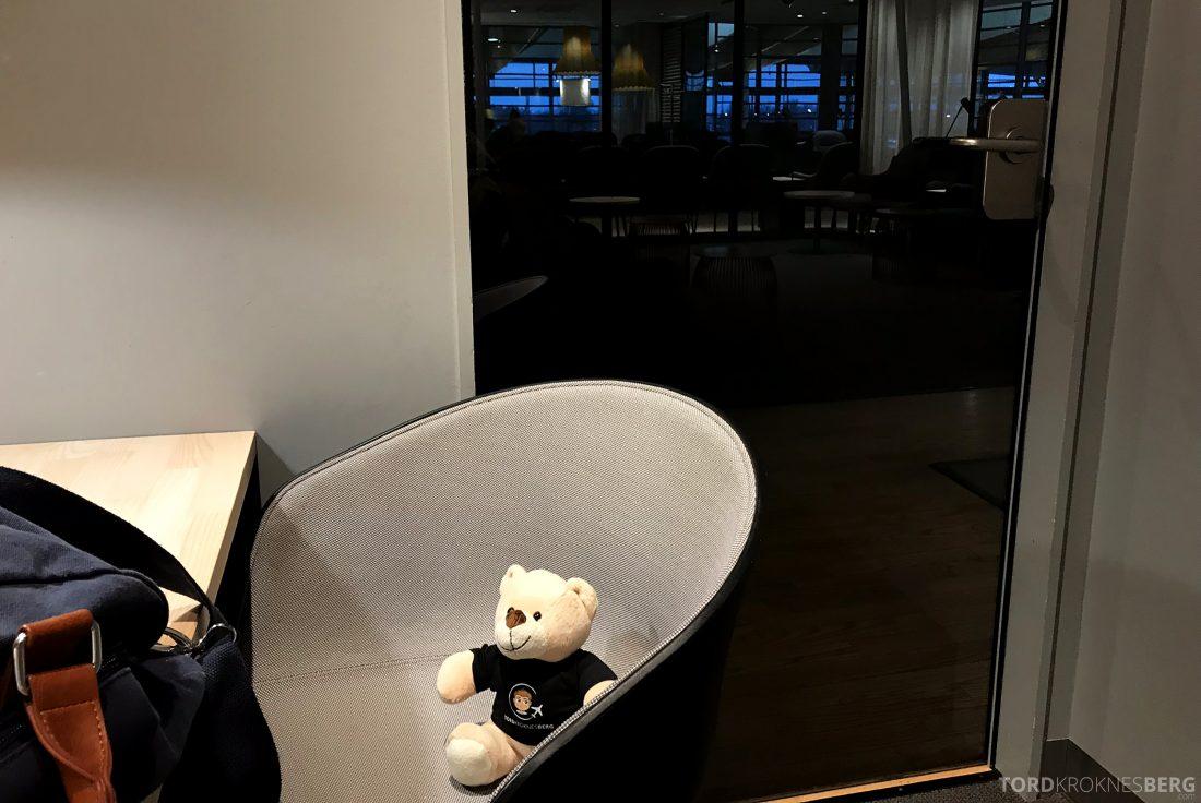 SAS Business Class Oslo Los Angeles lounge