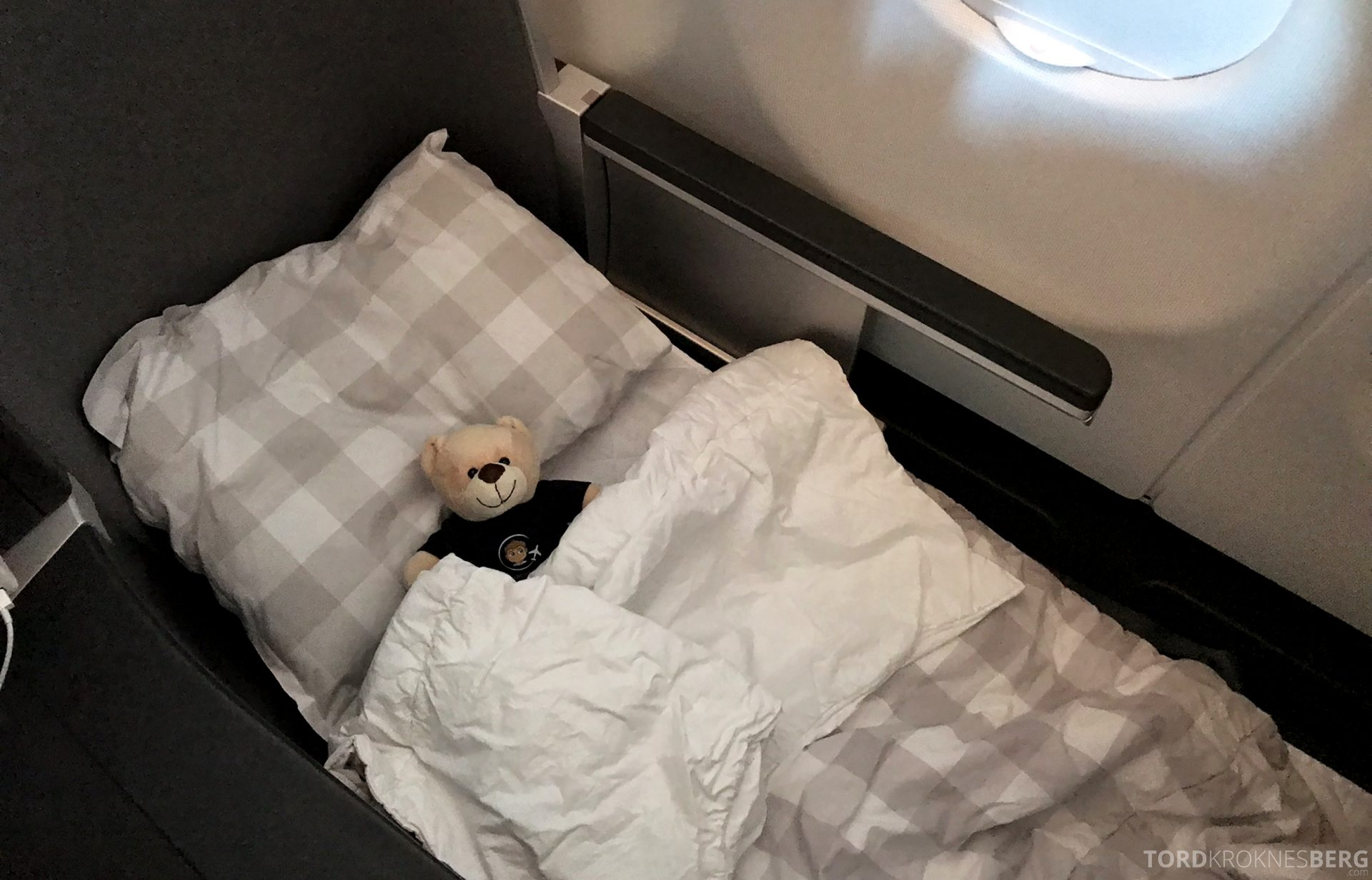 SAS Business Class Oslo Los Angeles seng