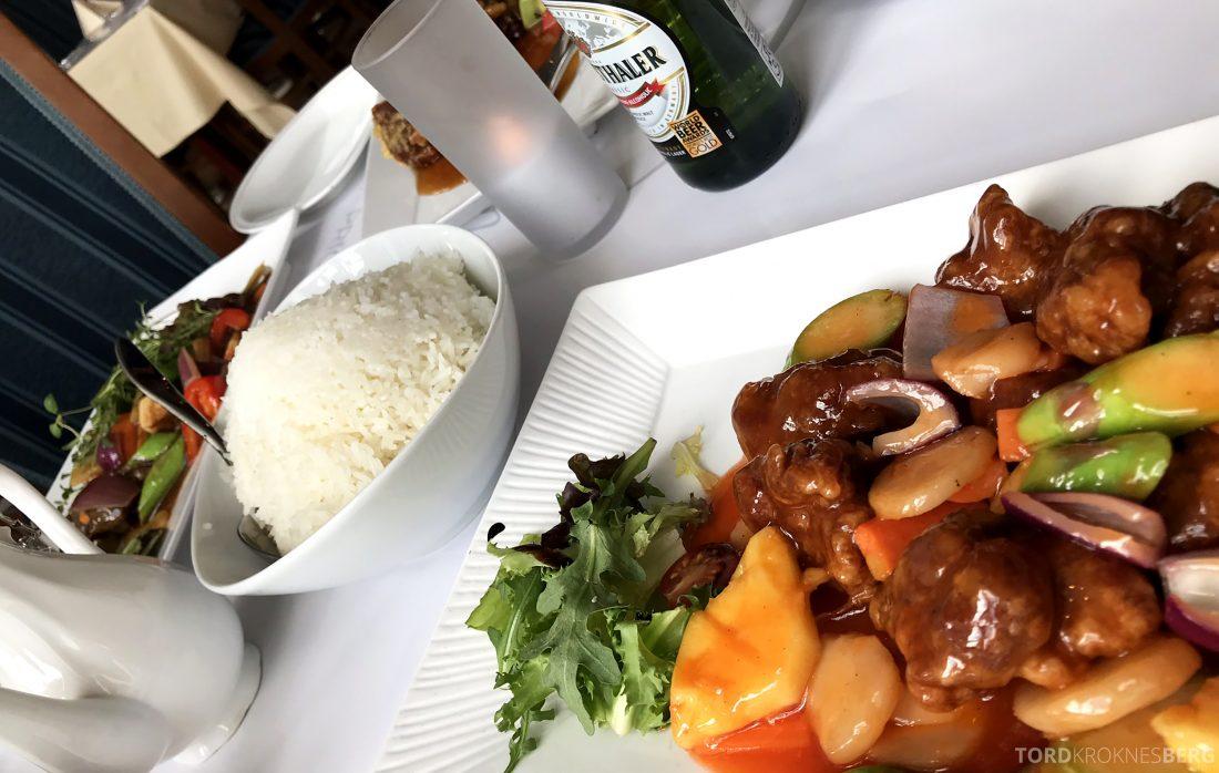 Szechuan Restaurant Trondheim måltid