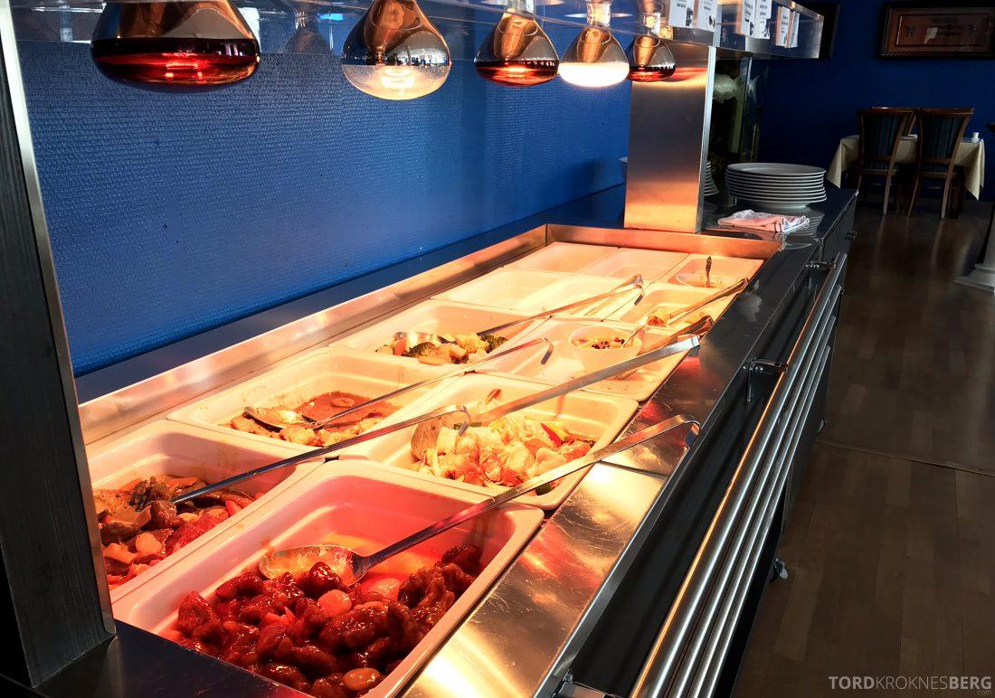 Szechuan Restaurant Trondheim buffet