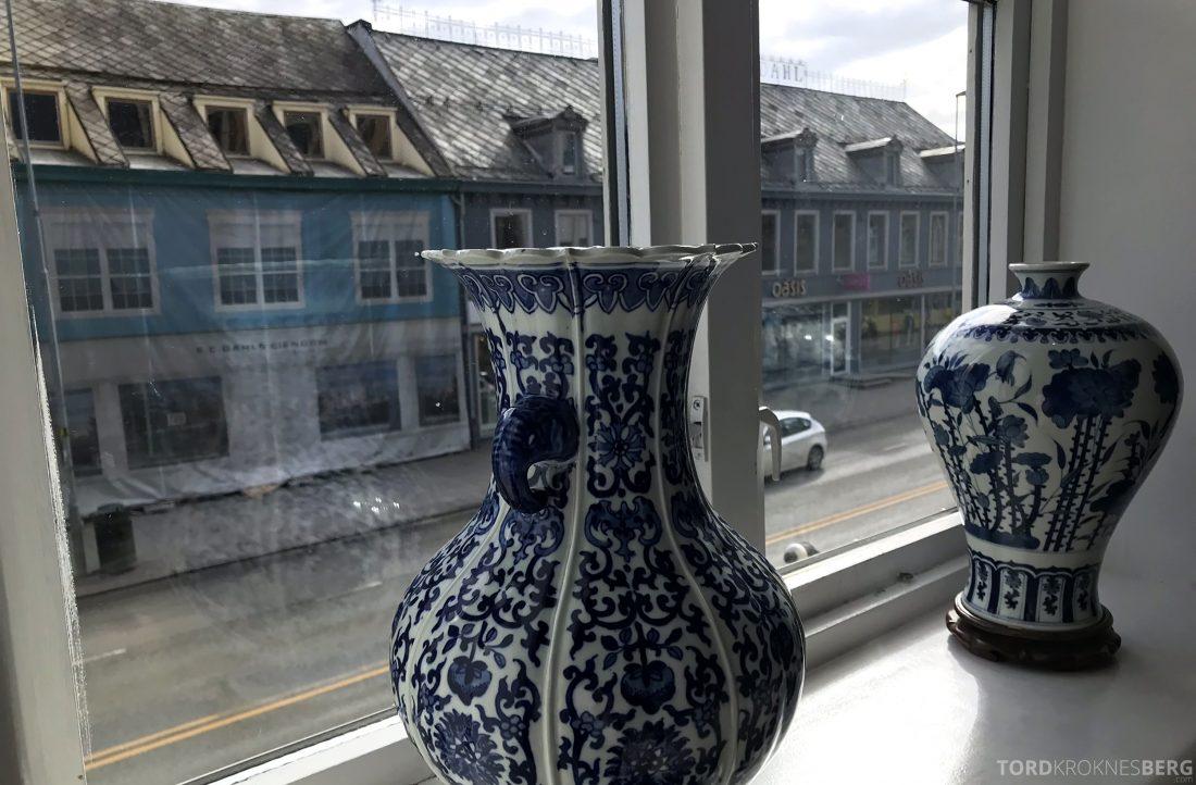 Szechuan Restaurant Trondheim utsikt