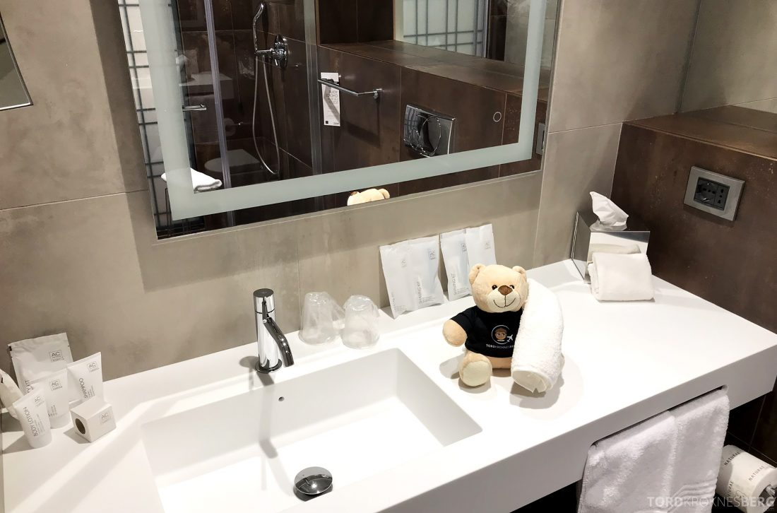 AC Hotel Venezia by Marriott reisefølget bad