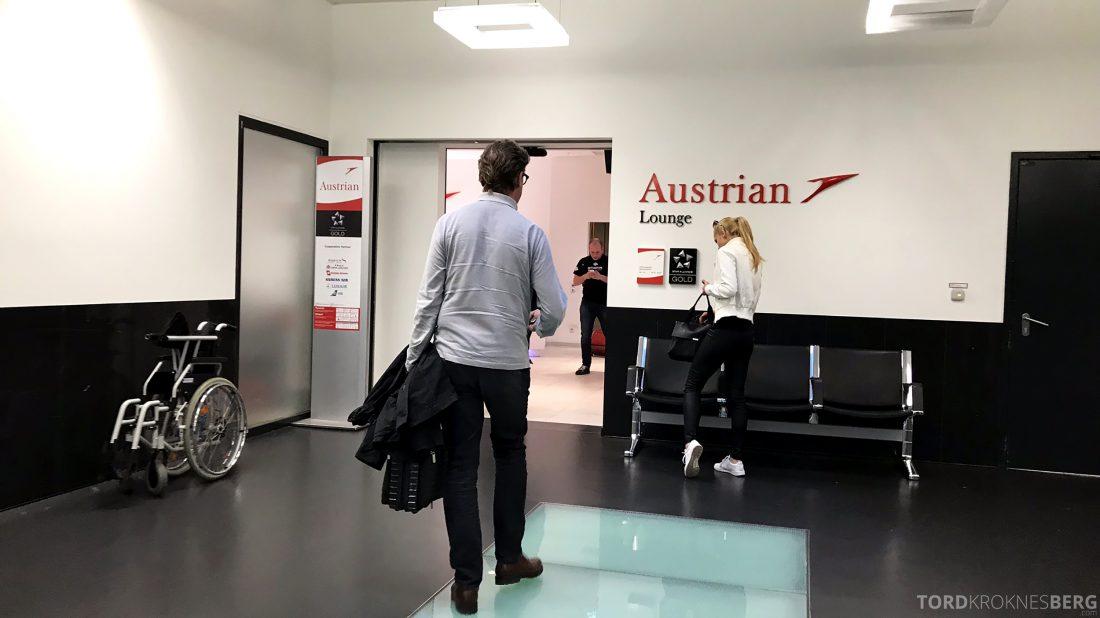 Austrian Gold Lounge Vienna inngang