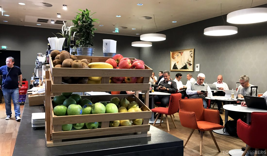 Austrian Gold Lounge Vienna frukt