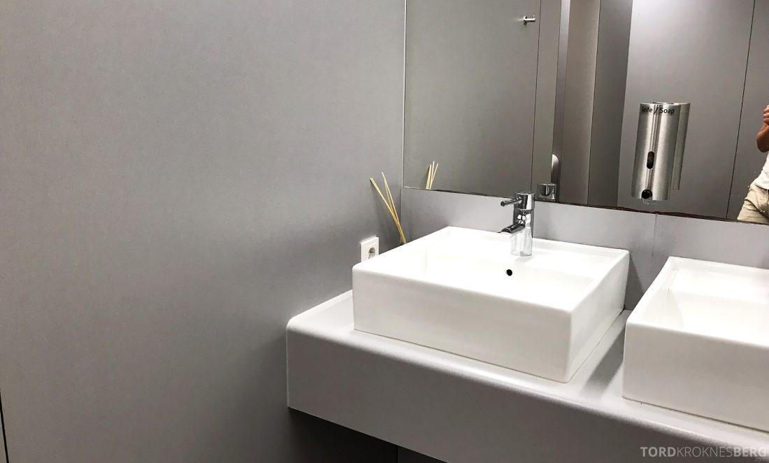 Austrian Gold Lounge Vienna toalett
