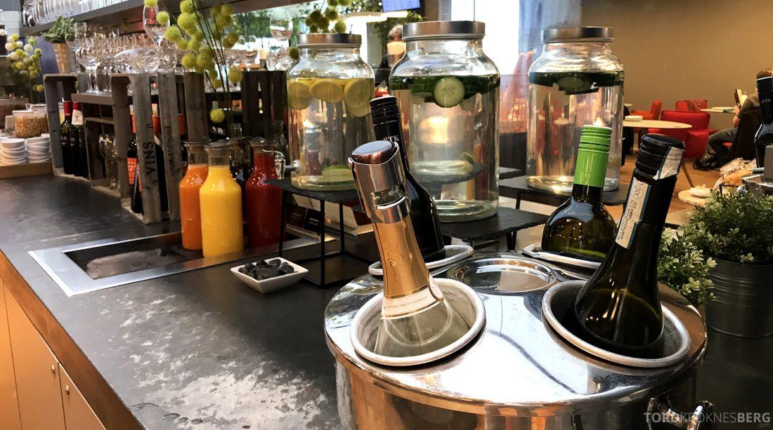 Austrian Gold Lounge Vienna vin