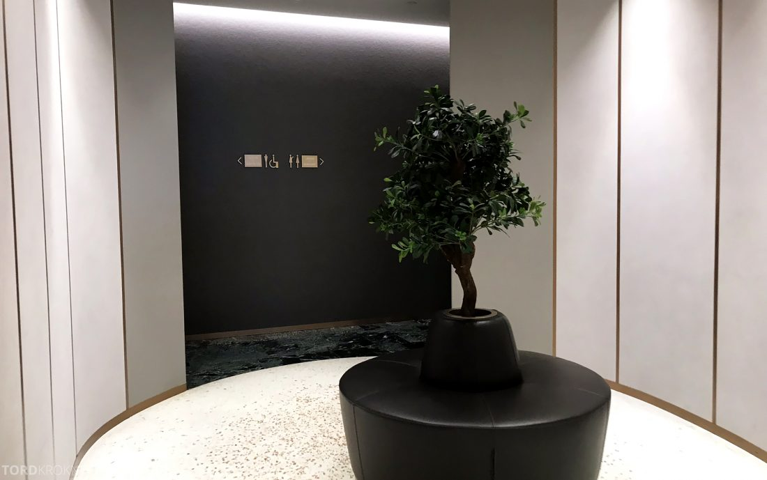 Marco Polo Lounge Venezia inngang toaletter