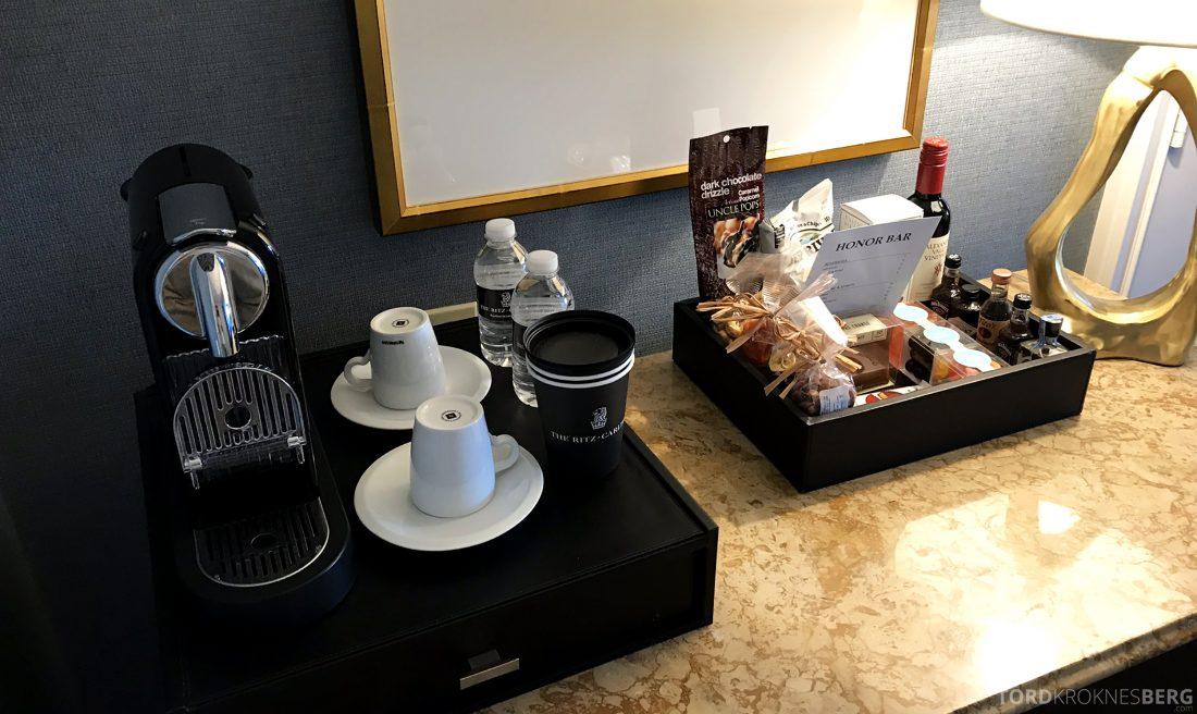Ritz-Carlton Marina del Rey Los Angeles Hotel kaffemaskin