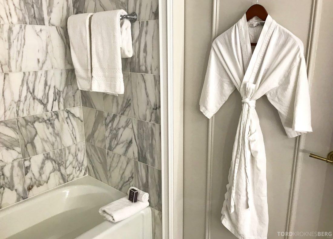 Ritz-Carlton Marina del Rey Los Angeles Hotel morgenkåpe