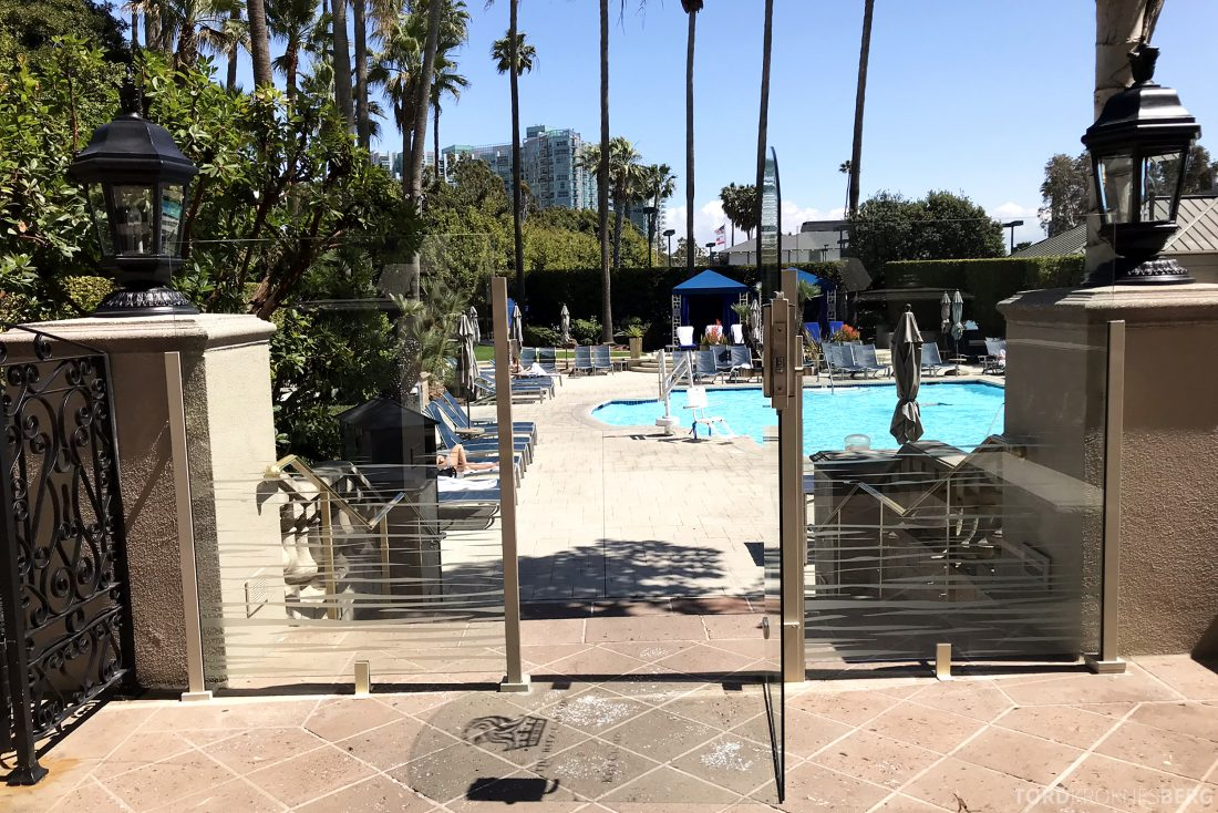 Ritz-Carlton Marina del Rey Los Angeles Hotel utgang basseng
