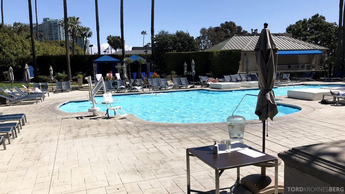 Ritz-Carlton Marina del Rey Los Angeles Hotel bassengområde