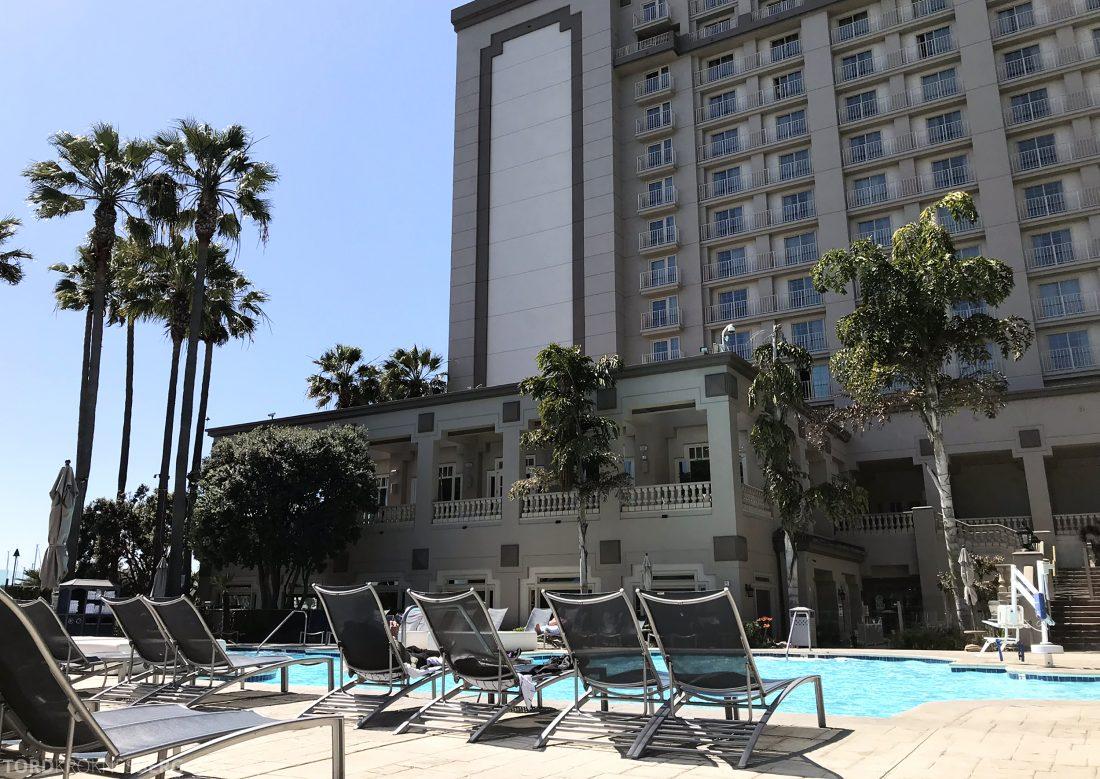 Ritz-Carlton Marina del Rey Los Angeles Hotel basseng fasade