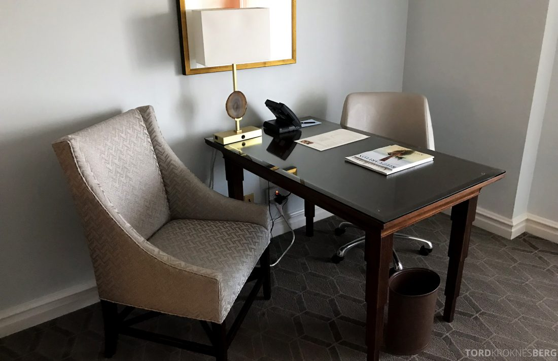 Ritz-Carlton Marina del Rey Los Angeles Hotel skrivebord