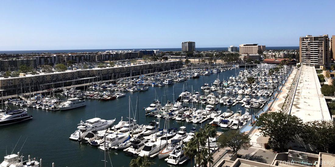 Ritz-Carlton Marina del Rey Los Angeles Hotel utsikt
