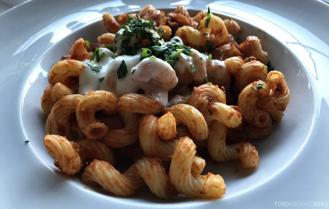 Ritz-Carlton Marina del Rey Los Angeles Hotel Club Lounge pasta
