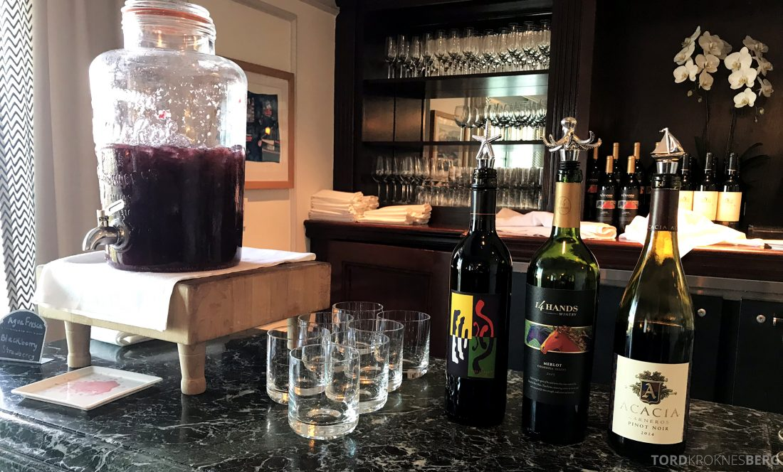 Ritz-Carlton Marina del Rey Los Angeles Hotel Club Lounge drikkevarer