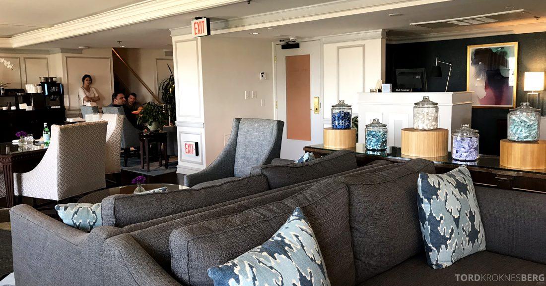 Ritz-Carlton Marina del Rey Los Angeles Hotel Club Lounge omgivelser