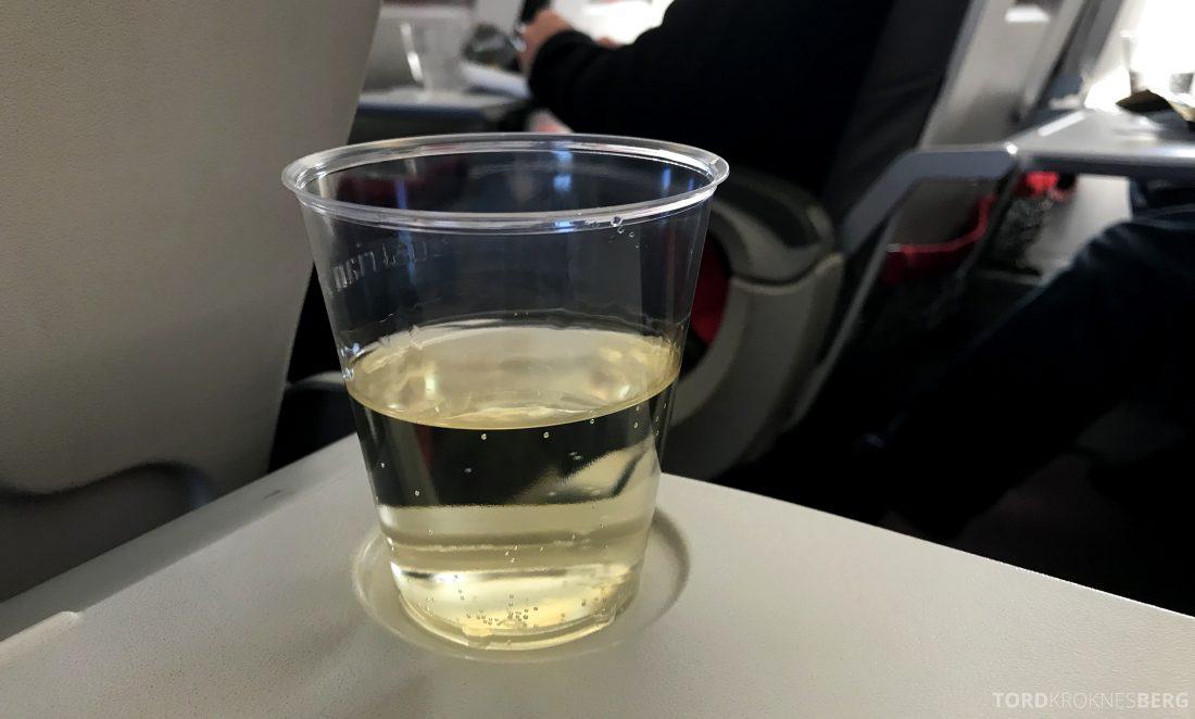 Austrian Economy Class Vienna Oslo vin