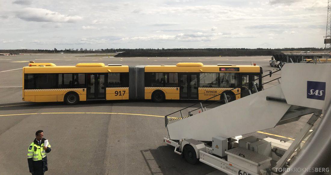 Austrian Economy Class Vienna Oslo buss