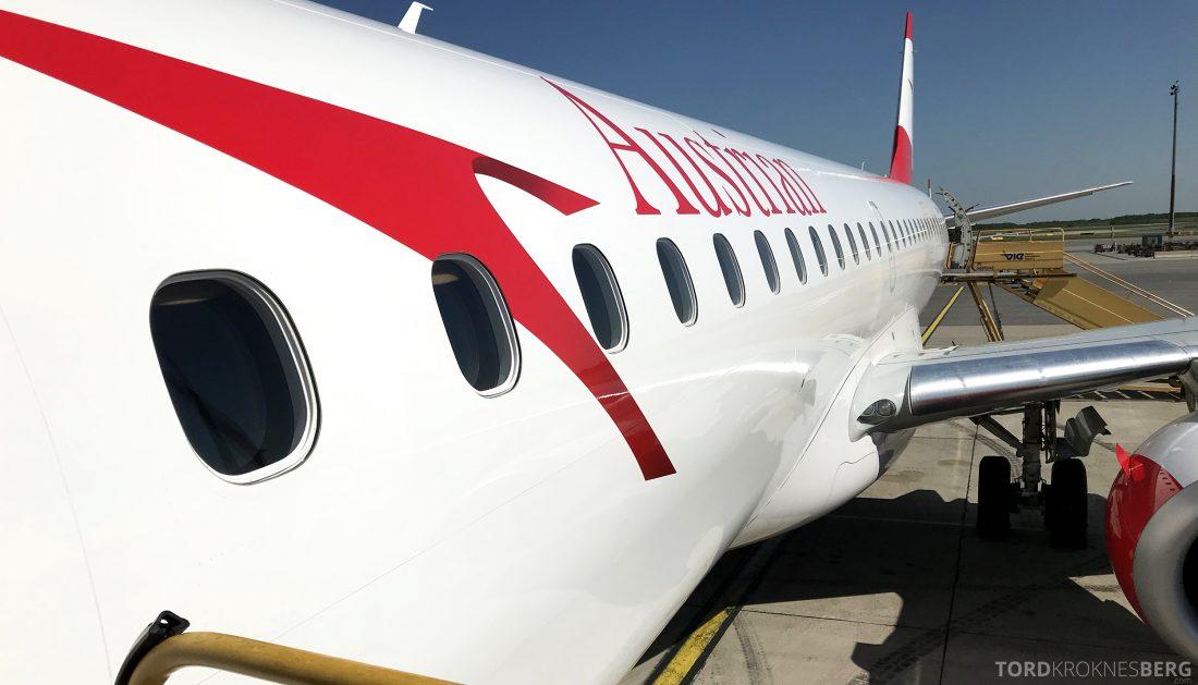 Austrian Economy Class Vienna Oslo fly
