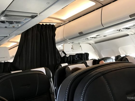 British Airways Business Class Oslo London forheng