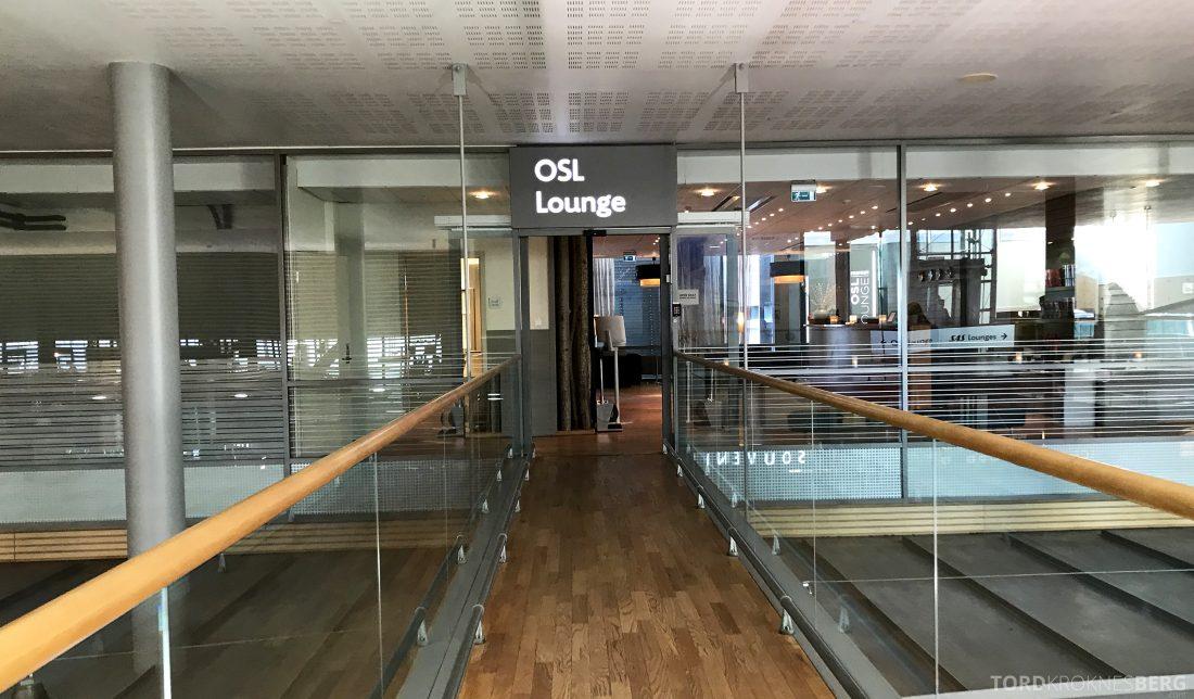 British Airways Business Class Oslo London OSL Lounge