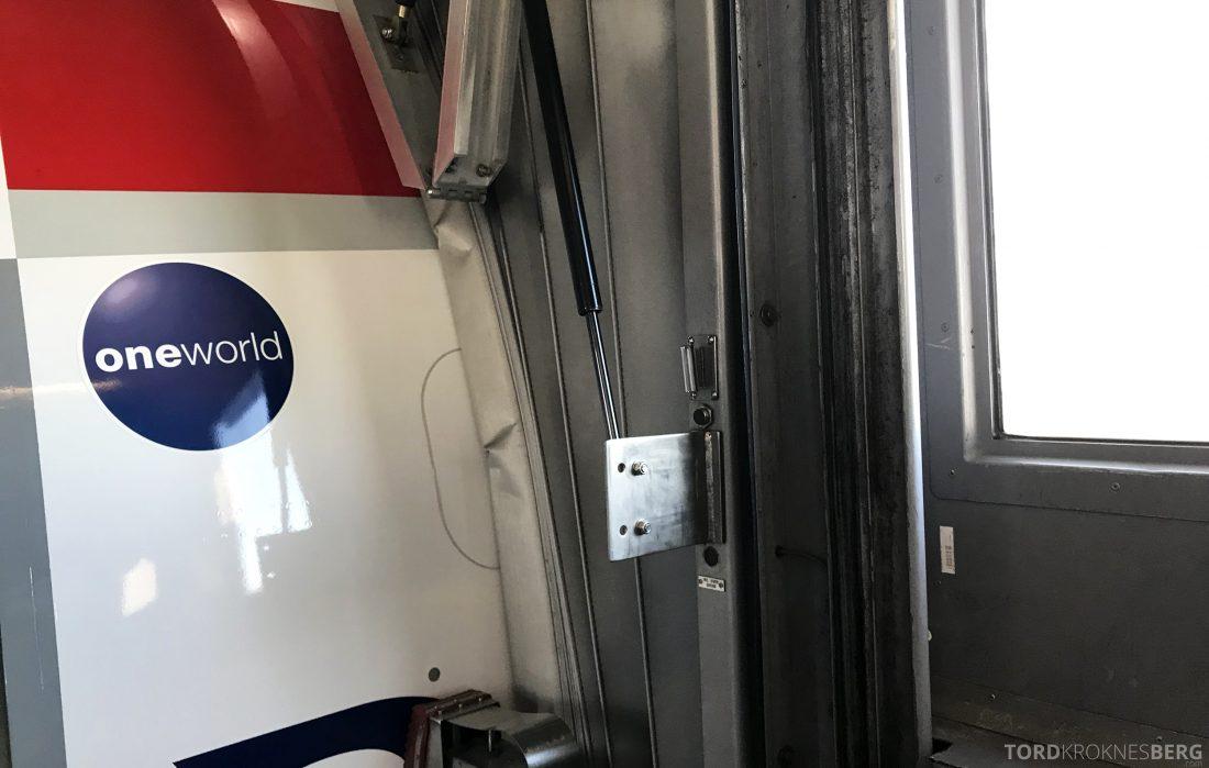 British Airways Business Class Oslo London fly
