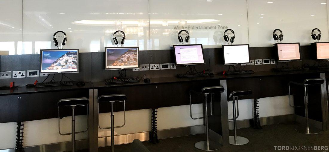 British Airways Galleries First Lounge Heathrow data