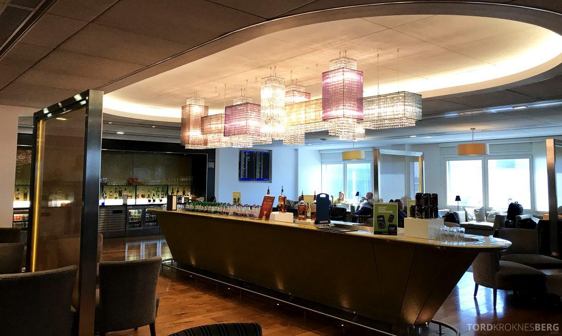 British Airways Galleries First Lounge Heathrow interiør