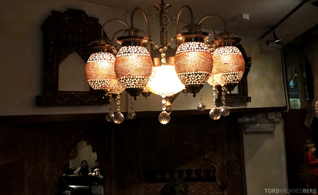 Jewel of India Restaurant Oslo interiør