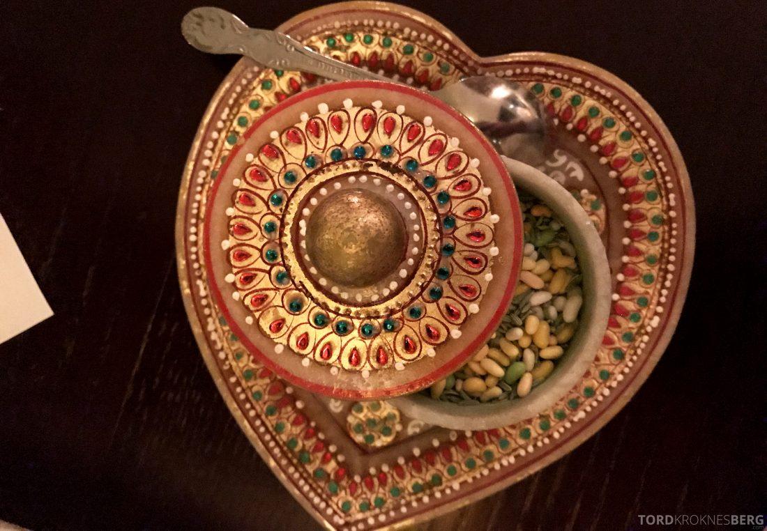Jewel of India Restaurant Oslo dessert