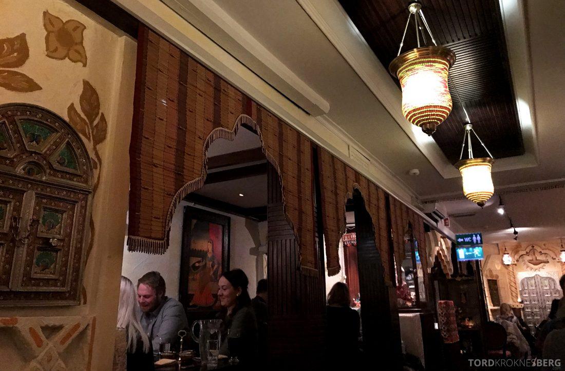 Jewel of India Restaurant Oslo oversikt