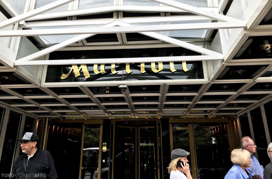 Marriott Vienna Hotel hovedinngang
