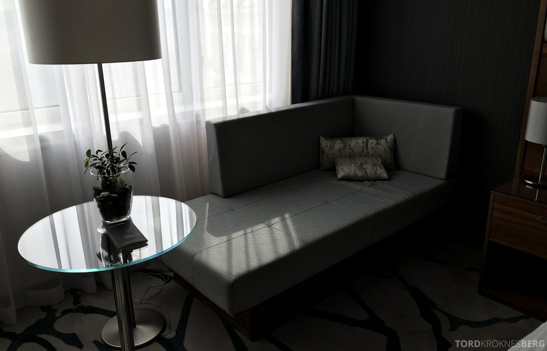 Marriott Vienna Hotel divan