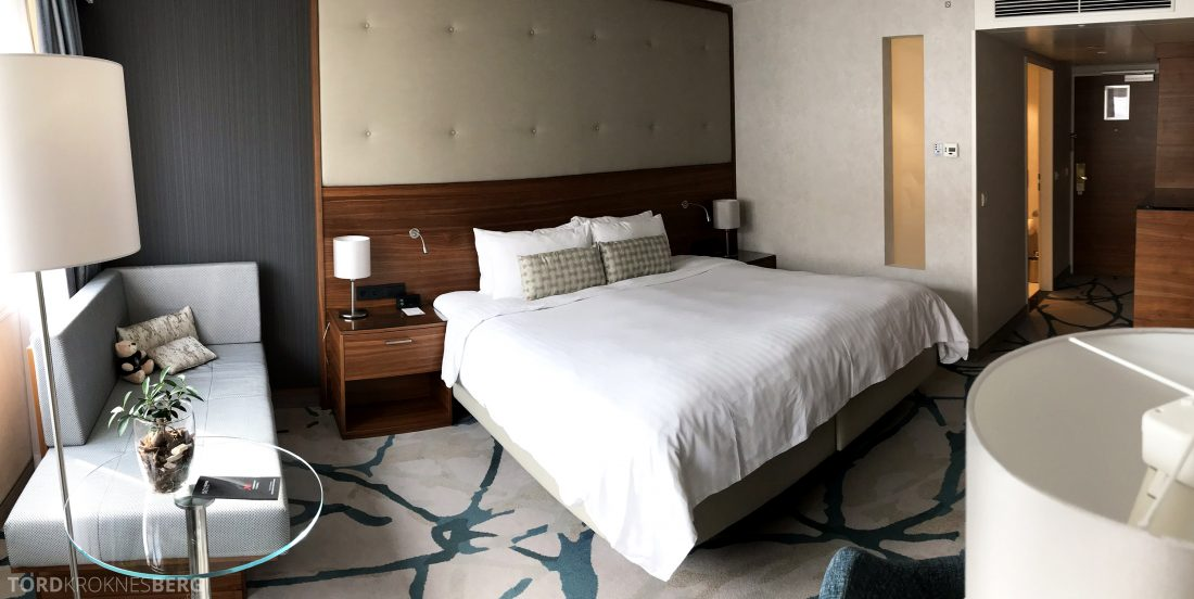 Marriott Vienna Hotel panorama værelse