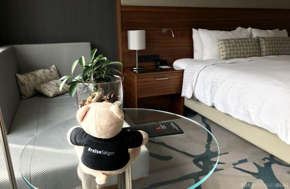 Marriott Vienna Hotel reisefølget værelse