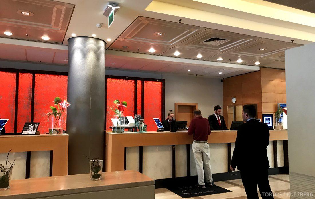 Marriott Vienna Hotel resepsjon