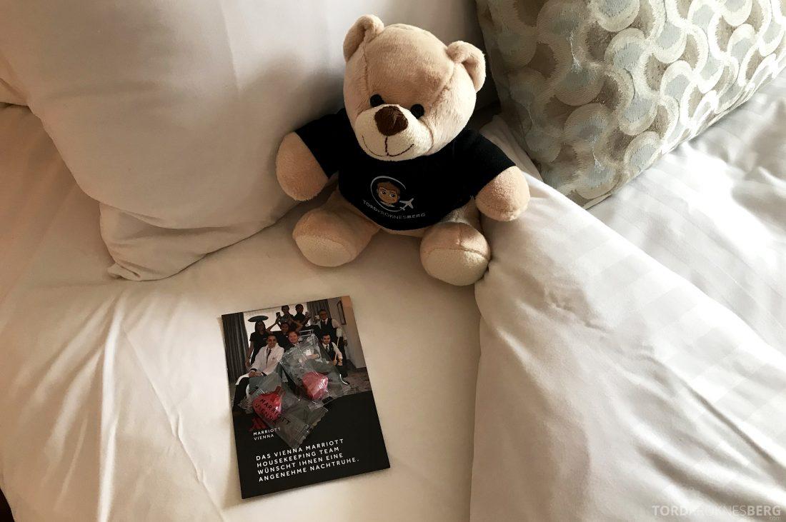 Marriott Vienna Hotel hilsen