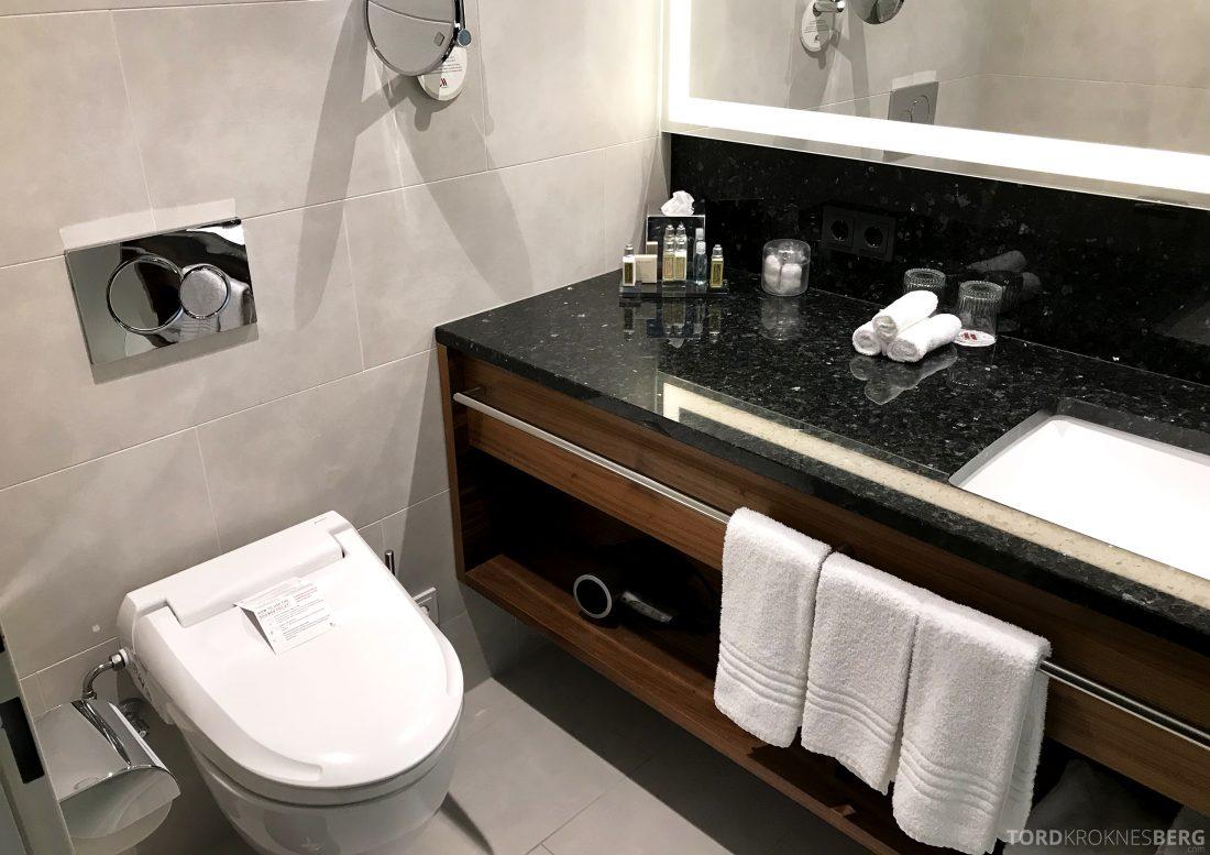 Marriott Vienna Hotel toalett