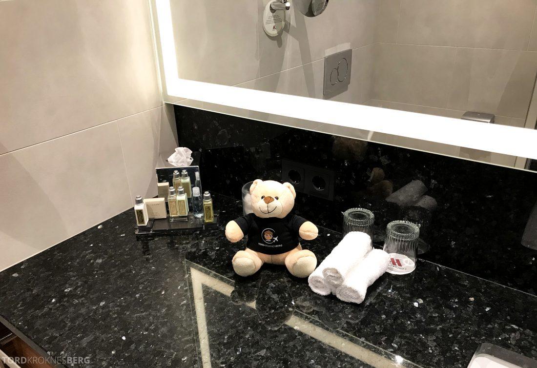 Marriott Vienna Hotel reisefølget badeartikler