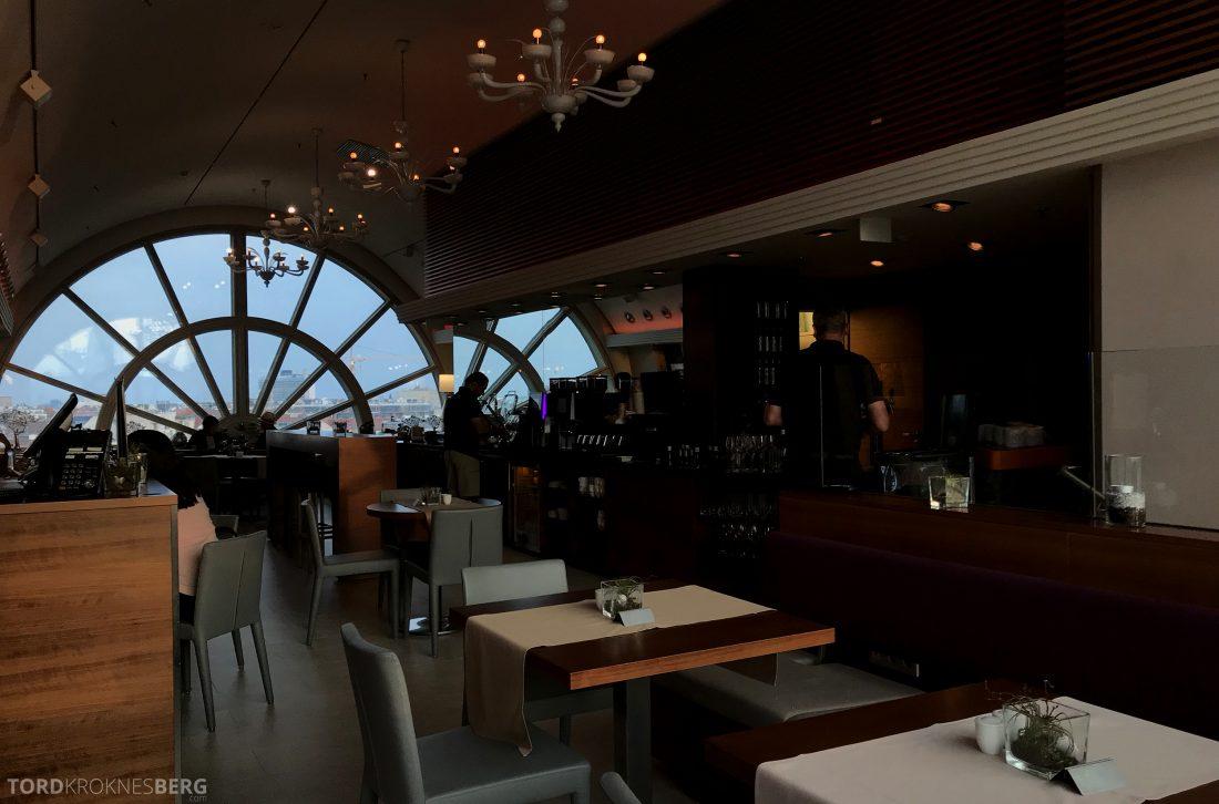 Marriott Vienna Hotel M Club Lounge kveld