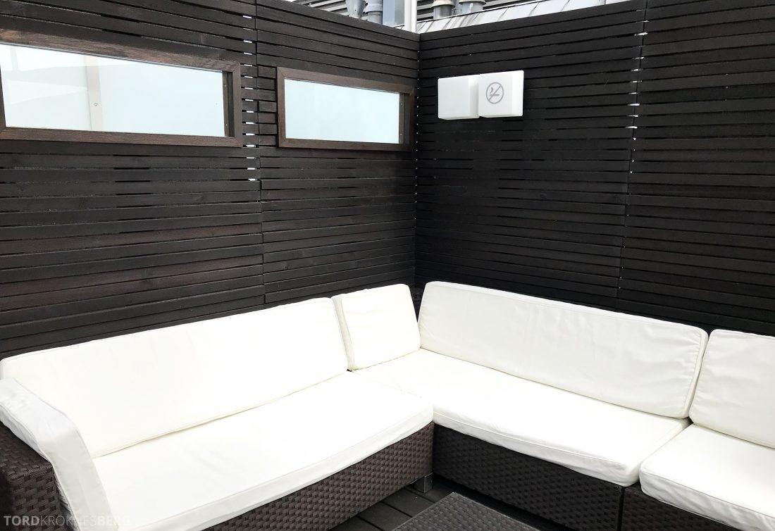 Marriott Vienna Hotel M Club Lounge utendørs terrasse