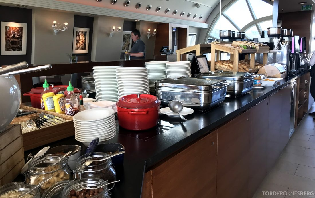 Marriott Vienna Hotel M Club Lounge frokostbuffet