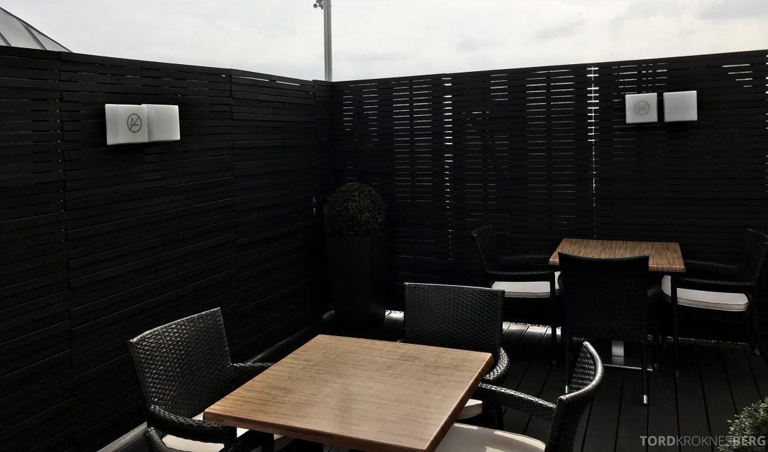 Marriott Vienna Hotel M Club Lounge terrasse