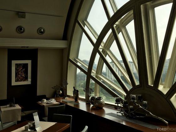 Marriott Vienna Hotel M Club Lounge interiør
