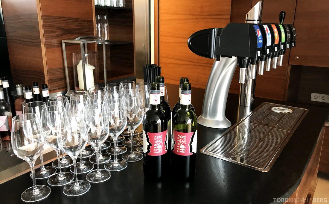 Marriott Vienna Hotel M Club Lounge brus