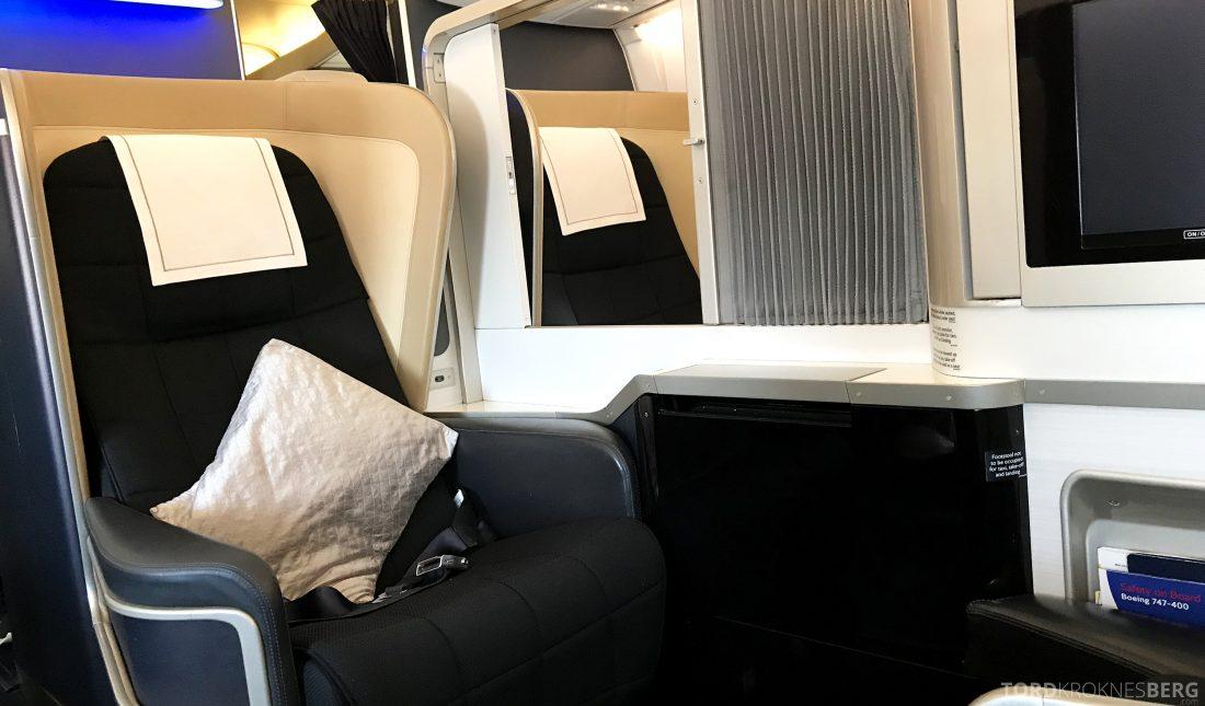 British Airways First Class London Miami sete