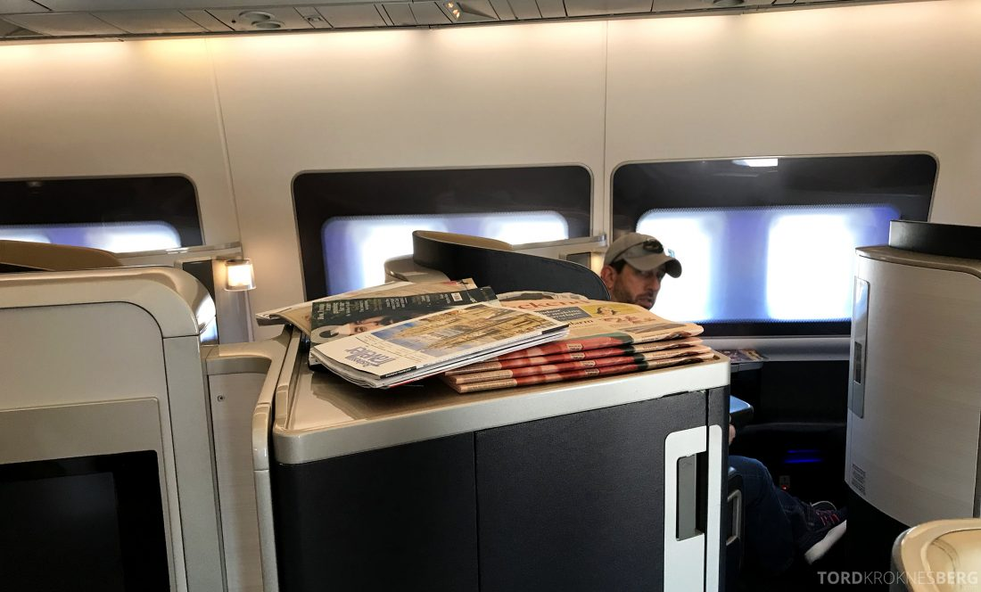British Airways First Class London Miami aviser