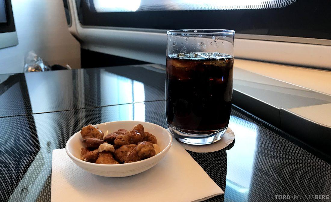 British Airways First Class London Miami appetittvekker