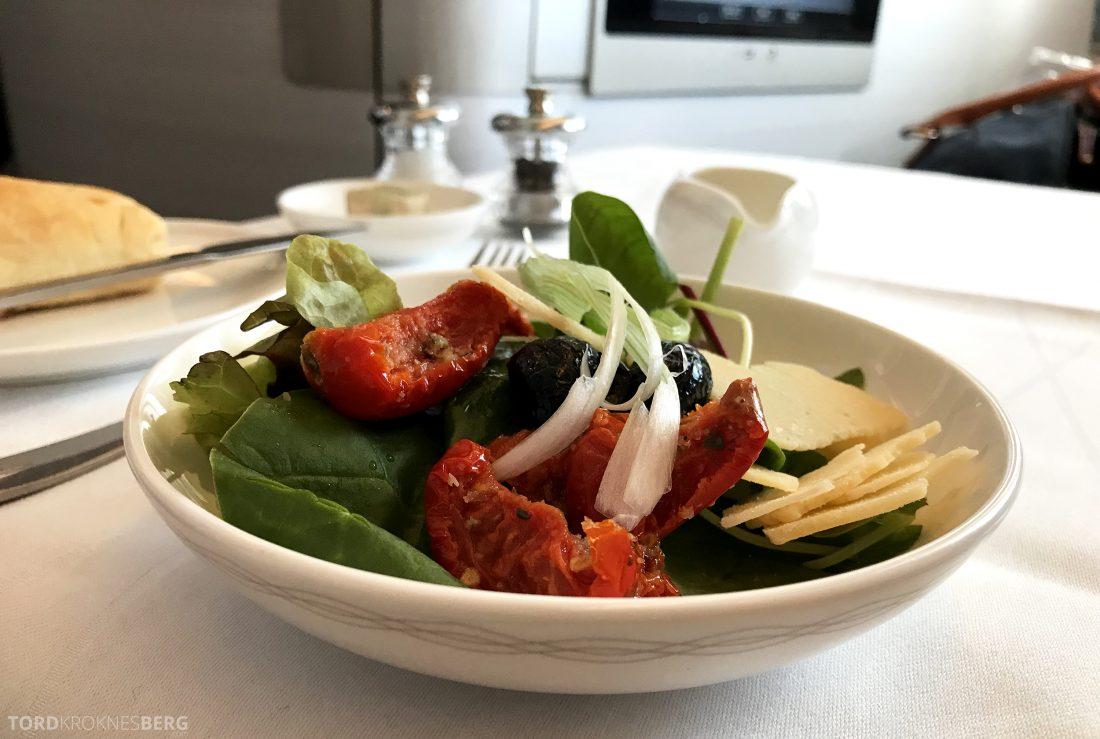British Airways First Class London Miami salat